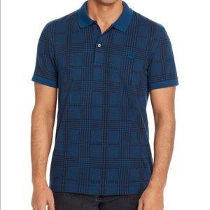 Lacoste Jacquard Regular Fit Short-Sleeve Polo
